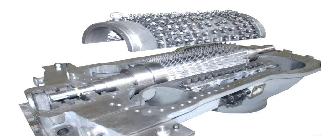 Shaangu turbo kompressör eksenel